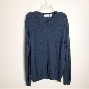 Calvin Klein V/Neck Sweater Extra Fine Merino Wool